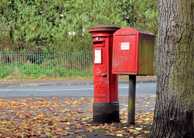 Pillar box and drop box, Belfast