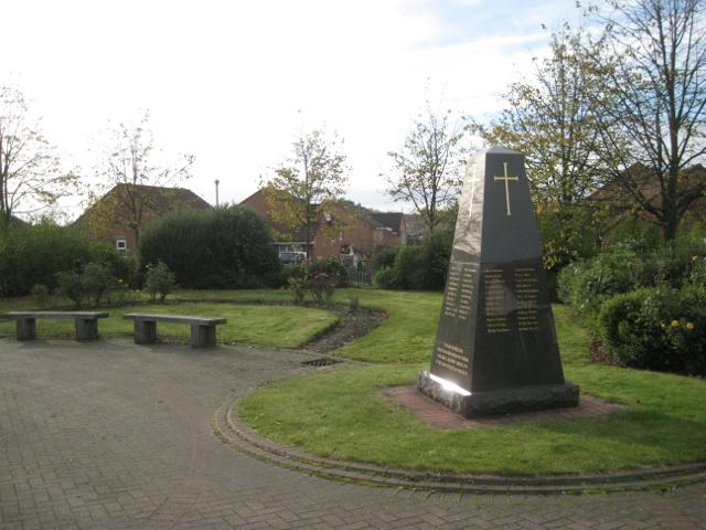 Millennium war memorial, Pype Hayes B24