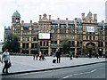 SJ8398 : Exchange Square &amp; Corn Exchange, Manchester by Paul Gillett