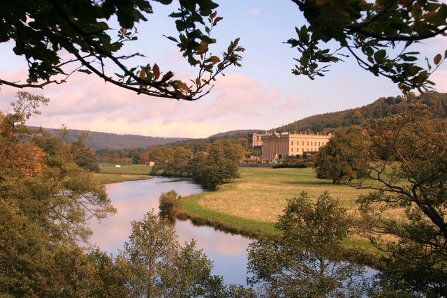 River Derwent and Chatsworth House