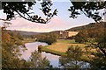 SK2569 : River Derwent and Chatsworth House by Graham Hogg