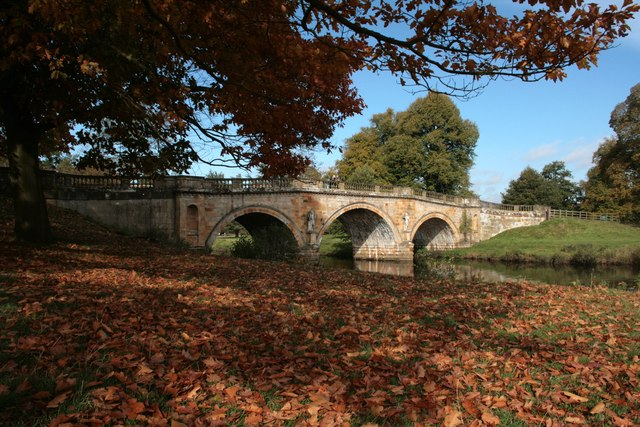 The bridge at Chatsworth