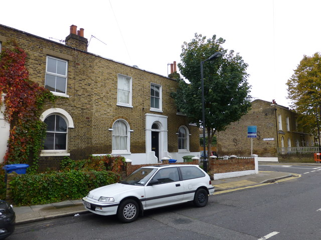 House at corner of Friary and Fenham Roads Peckham