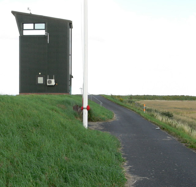 Observation tower at RAF Holbeach