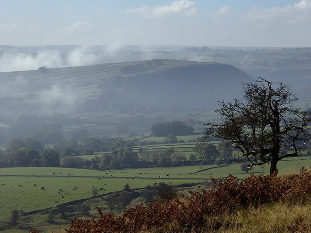 Longstone Edge view