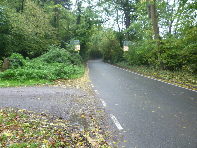 Layhams Road passing Well Wood
