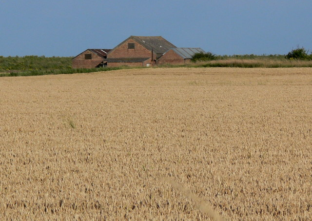 Farm buildings near Gedney Drove End