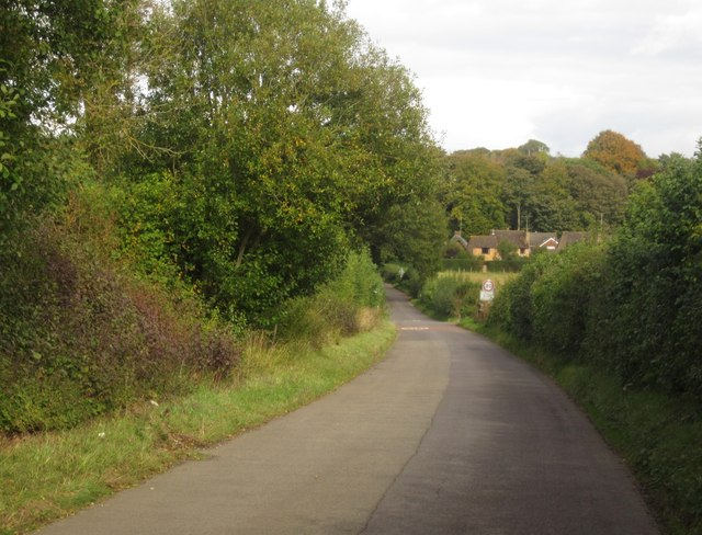 Road to St Mary Bourne