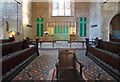 TQ3182 : St Mark, Myddelton Square, Clerkenwell - Chancel by John Salmon