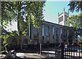 TQ3182 : St Mark, Myddelton Square, Clerkenwell by John Salmon