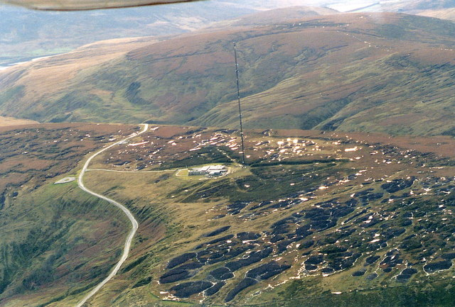 Holme Moss Transmitting Station, aerial 2001
