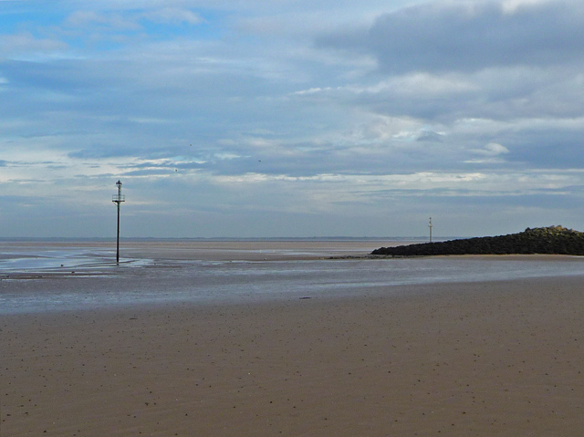 Breakwater at Leasowe