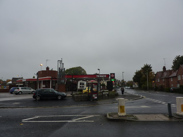 Petrol Station, Ashgate Road