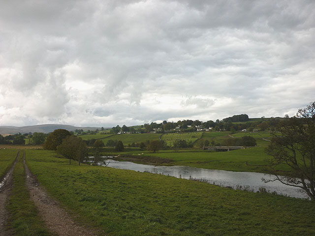 The River Lowther near Helton