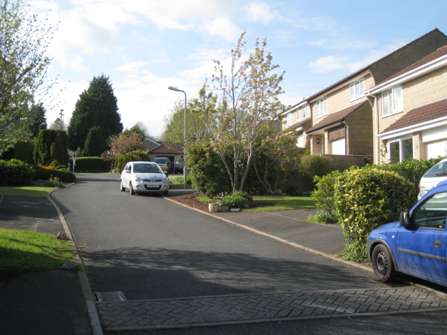 Northern arm of Grange Drive