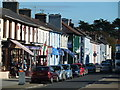 SN4562 : Aberaeron - shops by Chris Allen