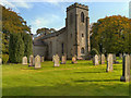 NY8577 : St Michael's Parish Church, Wark by David Dixon