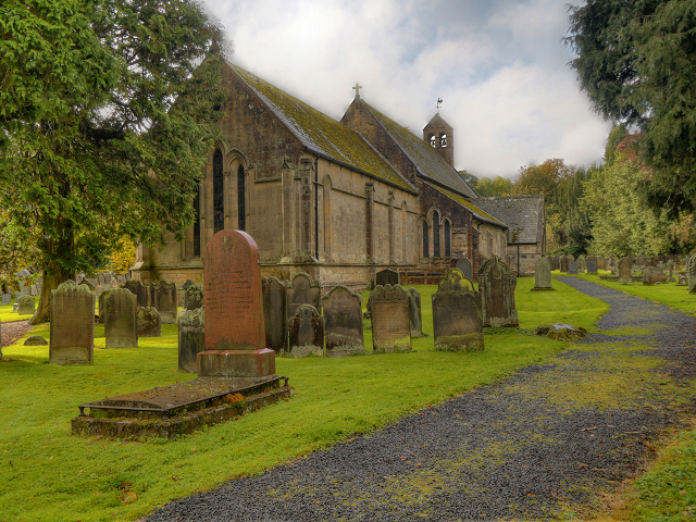 The Parish Church of St Mungo at Simonburn