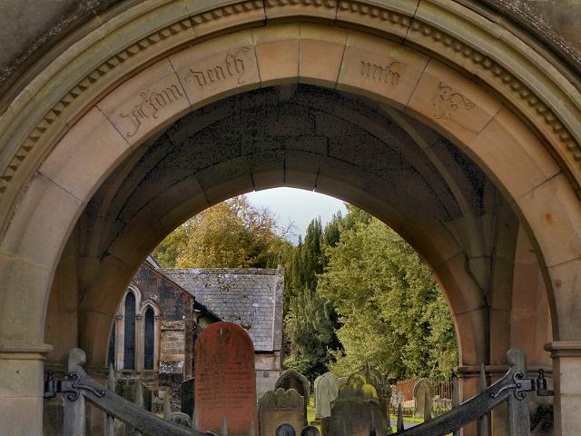 St Mungo's Church and Lychgate Arch