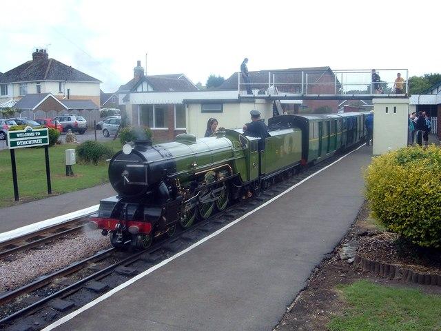 Dymchurch, RH&DR Railway Station