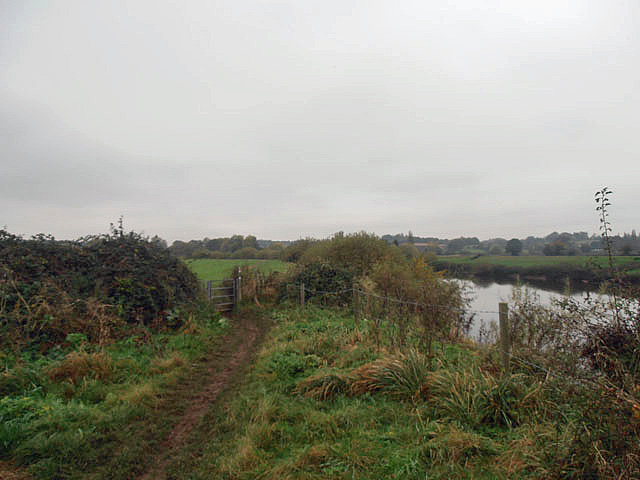 The Severn Way at Lower Ham
