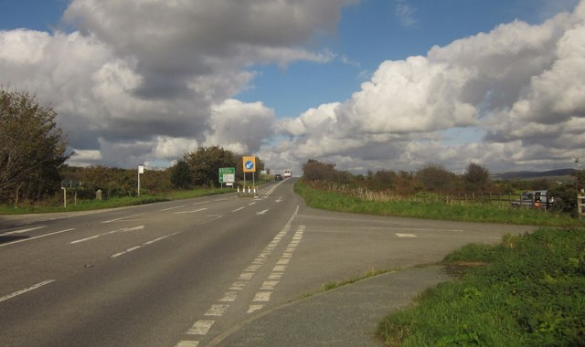 A386 at Little Down Lane