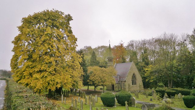 Northern chapel in Bakewell Cemetery
