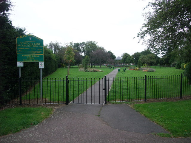 Dovecote Lane recreation Ground