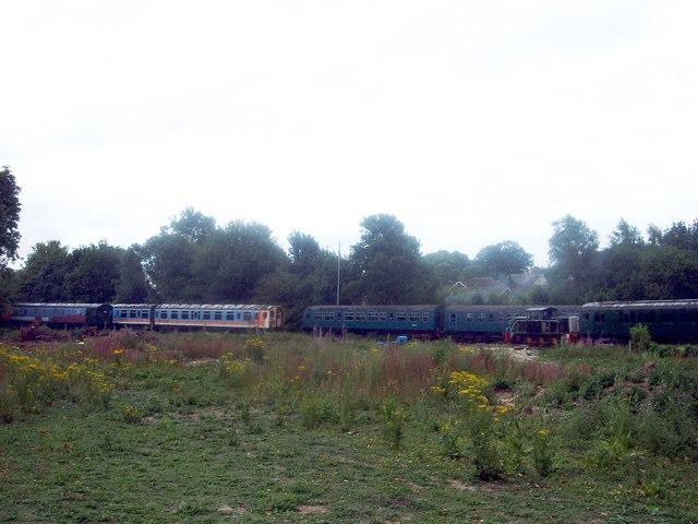 East Kent Railway - Shepherdswell Station (Heritage Railway)