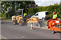 SU4932 : Cutting a trench in Campion Way by Peter Facey