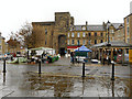 NY9364 : Hexham Market Place and Moot Hall by David Dixon