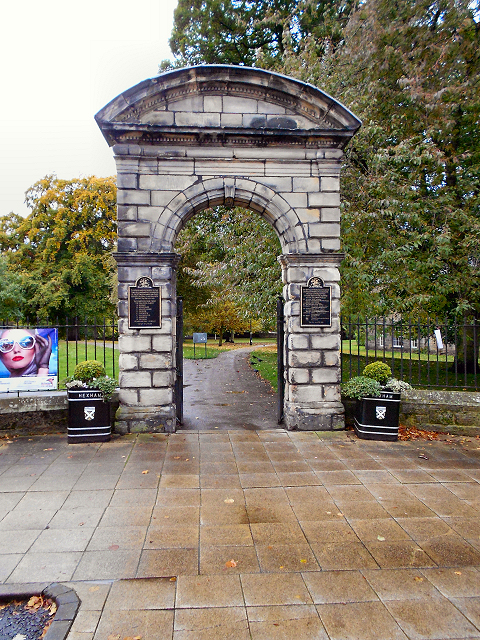 Northumberland Fusiliers Memorial Arch