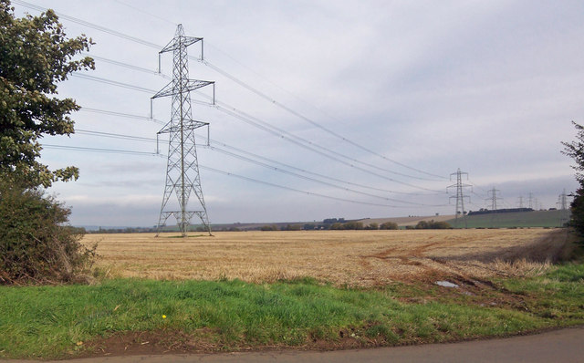 Power Lines near West Halton