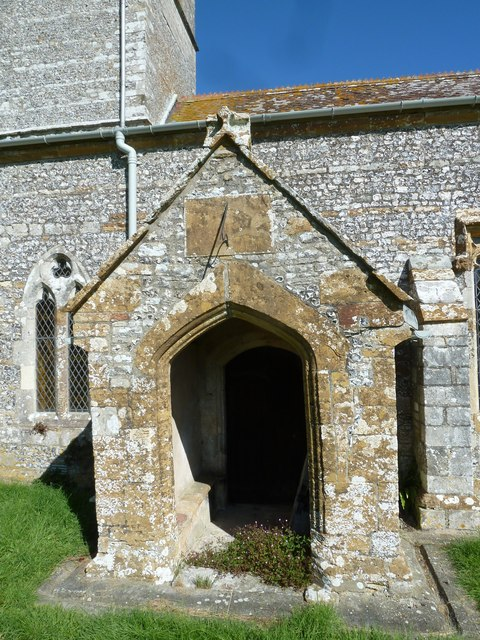 St Martin, Cheselbourne: porch