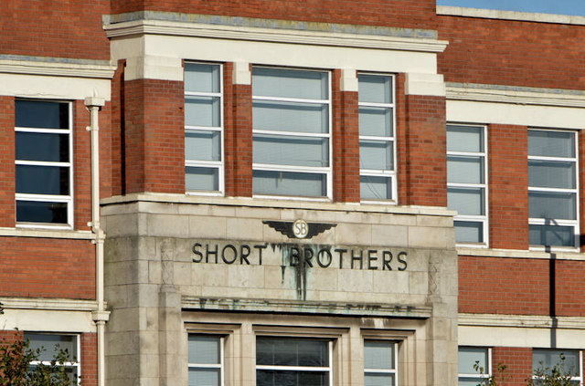 Shorts offices, Belfast (detail)