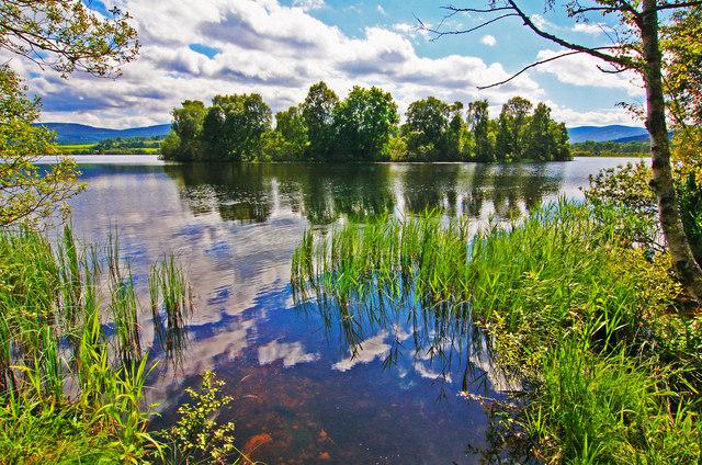 Castle Island, Loch Kinord