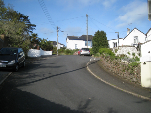 Steep bend, Ferndale Road