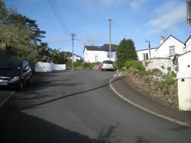 Steep bend, Ferndale Road