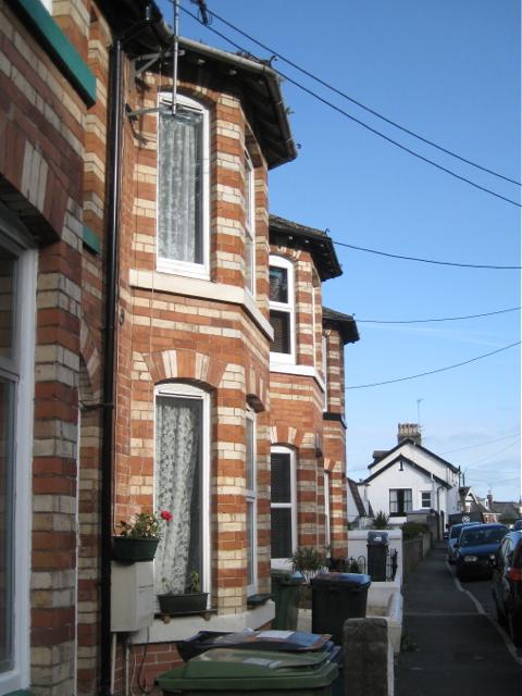 Bay windows, Higher Brimley Terrace