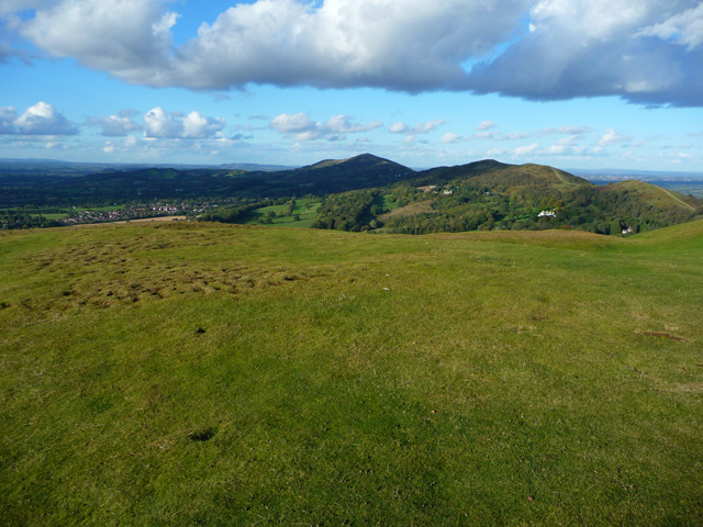 On top of the Herefordshire Beacon