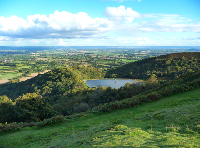 Eastern slopes of the Herefordshire Beacon