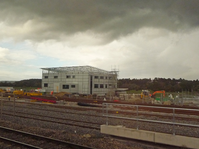 New Railway Depot Building