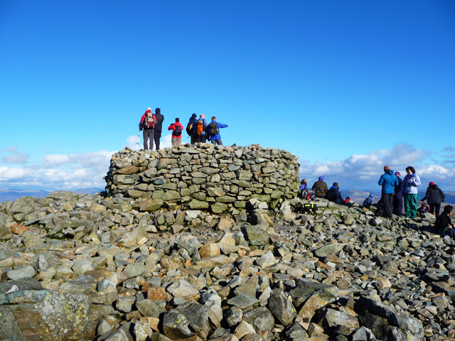England's highest point
