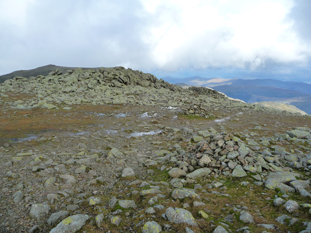 The north ridge of Ill Crag