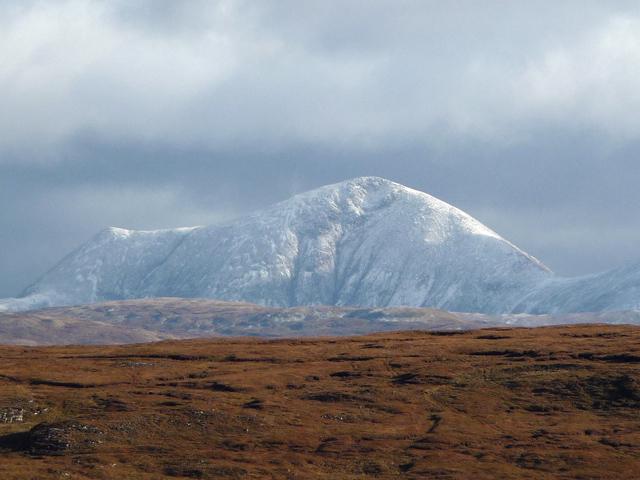 Moorland below Loch a' Bhac-ghlais