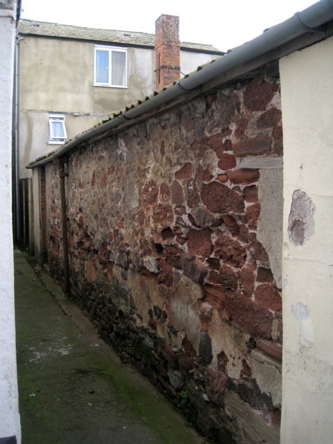 Old wall off George Street