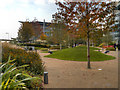 SJ8097 : The Plaza, MediaCity UK by David Dixon