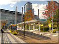 SJ8097 : MediaCity UK Metrolink Terminus by David Dixon