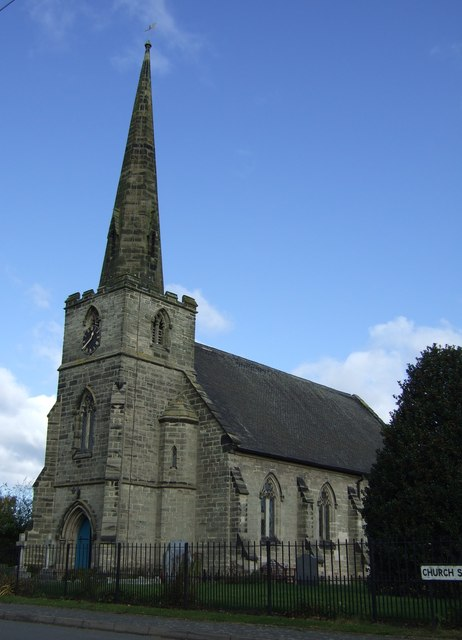 Image result for coton church derbyshire