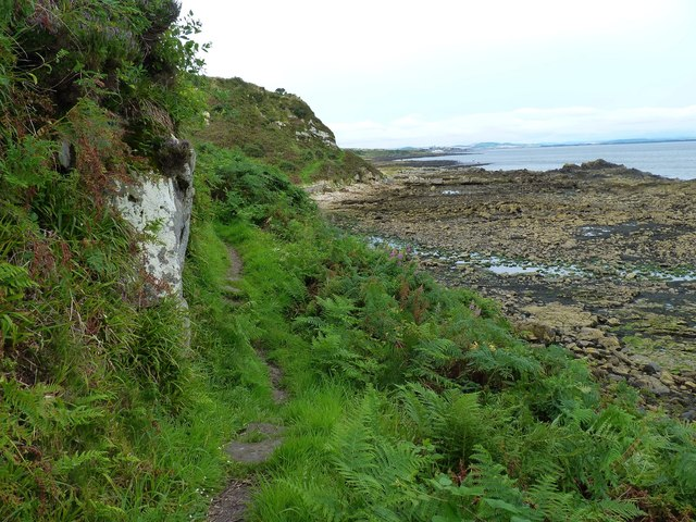 Twixt cliff and shore